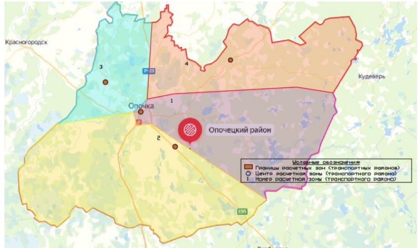 Опочецкий район Псковской области получил Комплексную схему организации дорожного движения (КСОДД)